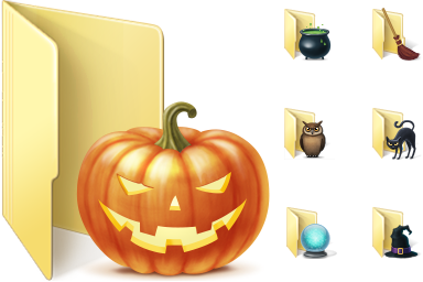 Halloween Folder Icons