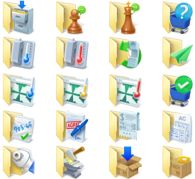 Business Folder Icons